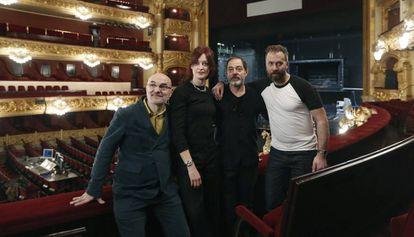 Presentación de Quartett en el Liceo.