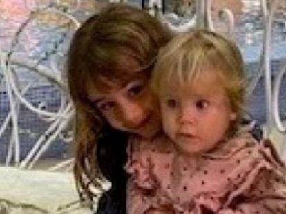 Anna, de un año, y Olivia, de seis, desaparecidas desde el 27 de abril en la isla de Tenerife junto a su padre, Tomás Gimeno, de 37 años.