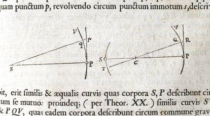 'Principia Mathematica' (1687) de Isaac Newton