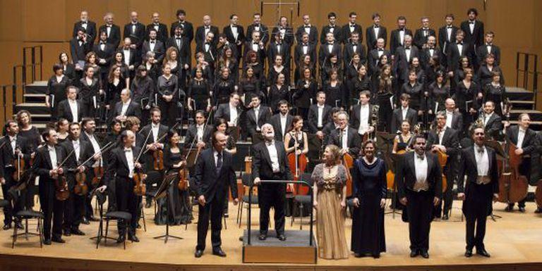 Concierto da Orquesta Sinfonica de Galicia.