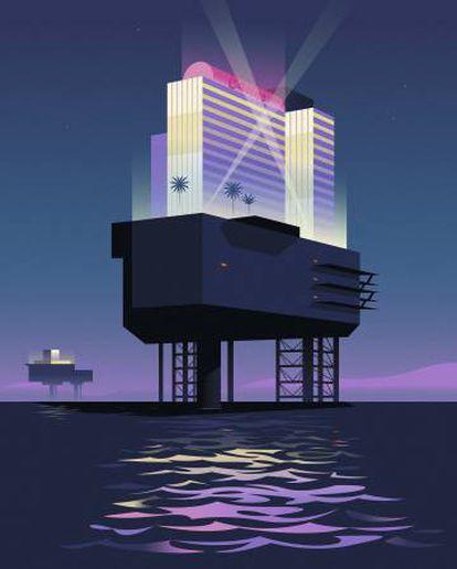 Los casinos flotantes brillaron en las costas estadounidenses durante el siglo XX. Hoy el juego se ha trasladado a los ferris y los cruceros.