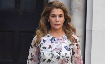 La princesa Haya de Jordania, en Londres, el pasado julio.