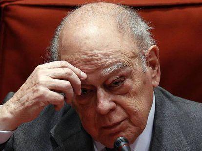 El expresidente de la Generalitat Jordi Pujol, en una imagen de archivo.