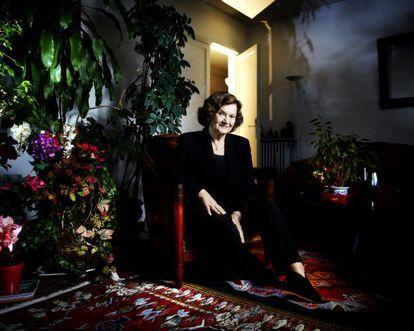 La historiadora y psicoanalista francesa Élisabeth Roudinesco.