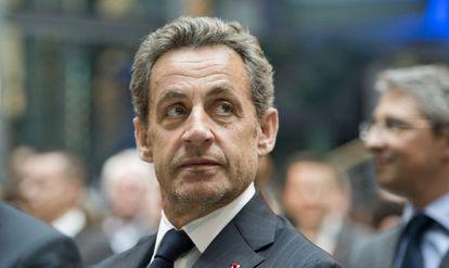 Nicolas Sarkozy, el pasado día 28 de febrero.