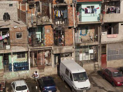 La Villa 31, un barrio pobre cerca del centro de Buenos Aires.