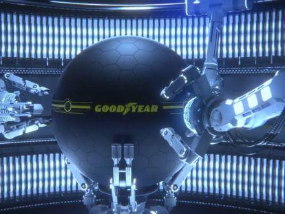 La rueda del futuro, según Goodyear.