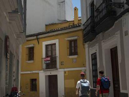 Casa natal de Velazquez en Sevilla, el pasado 17 de julio.