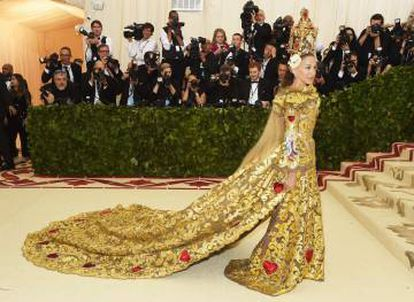 Sarah Jessica Parker en un Dolce & Gabbana.
