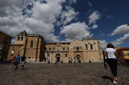 Real Colegiata de San Isidoro, en León.