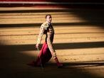 Enrique Ponce during bullfighting in Navalcarnero, Madrid on Saturday, 29 May 2022.