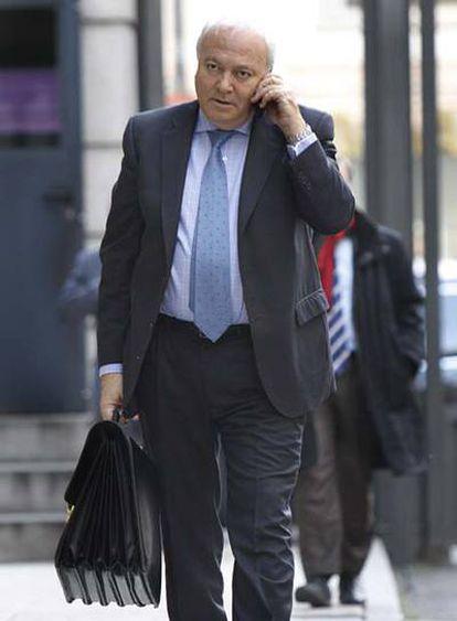 Miguel Ángel Moratinos, ayer en el Congreso.