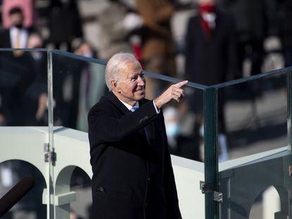 El presidente de Estados Unidos Joe Biden, este miércoles.