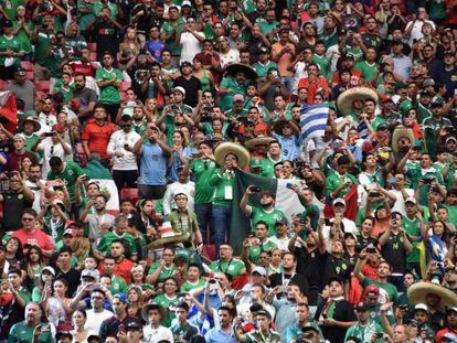 La afición de México durante la Copa América jugada en Estados Unidos
