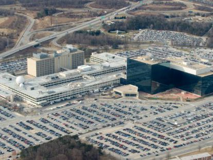 Un centro de la Agencia de Seguridad Nacional.