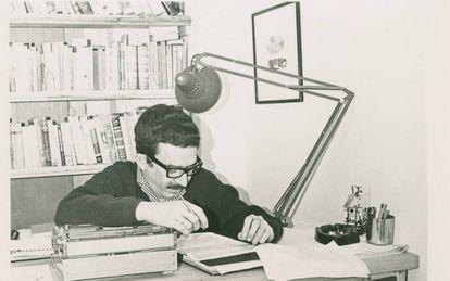 García Márquez, en octubre de 1965 cuando escribía 'Cien años de soledad'.