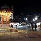 Plaza de la Bascarsija, en el centro de la ciudad vieja de Sarajevo. Autor: Antonio Pita