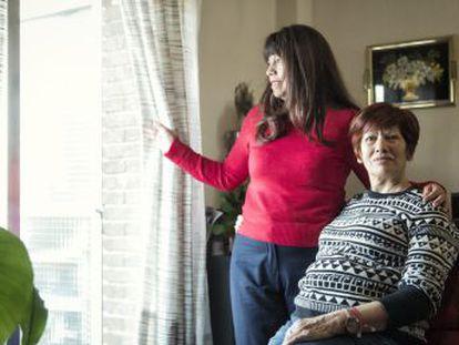 La ecuatoriana Azucena Vizcaíno y la española Rosalía Vicente sobrevivieron a años de malos tratos de sus parejas