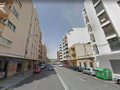 Viviendas en la barriada de Camp Redó en Palma.