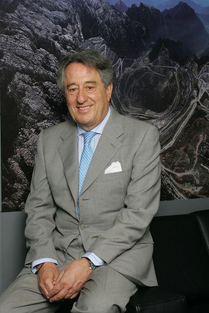 """Javier Targhetta, consejero delegado de Atlantic Copper, cree que el cobre tiene """"un gran futuro""""."""