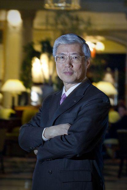 Richard Koo, en el hotel Palace de Madrid.