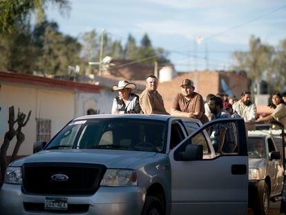 Un instante de la serie 'Somos' sobre la matanza de Allende (Coahuila).