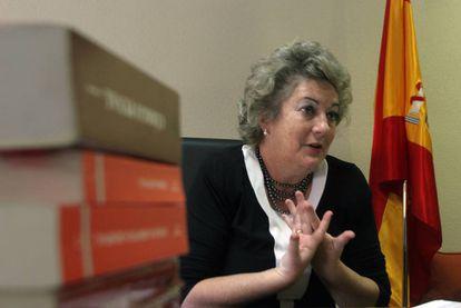 Soledad Cazorla, fiscal de sala delegada para la Violencia contra la Mujer.