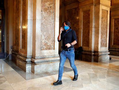 El diputado de Junts per Catalunya Francesc de Dalmases, el pasado mayo.