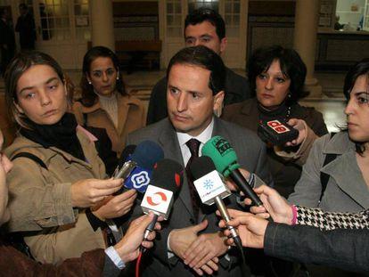 El exconcejal de Marbella Carlos Fernández, en 2006 antes de convertirse en prófugo.