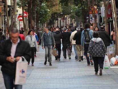 La calle de Fuencarral, de Madrid, en una imagen de archivo.