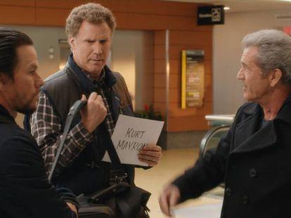 Mark Wahlberg, Will Ferrell y Mel Gibson, en la comedia.