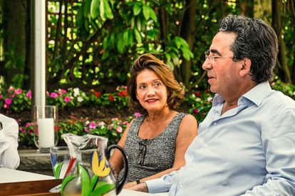 Robertina Marangoni, esposa del arquitecto. Ella es quien negocia y lleva los asuntos legales.