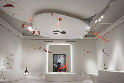 Una instalación del Museo de Bellas Artes de Montreal.