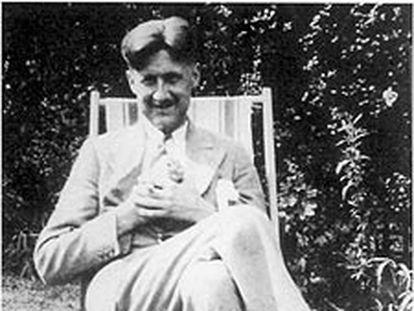 George Orwell, hacia 1930.