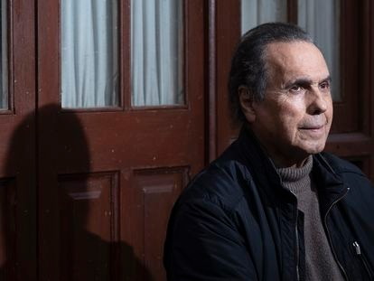 Pepe de Lucía, el cinco de enero pasado, en su casa en la localidad sevillana de Gines.