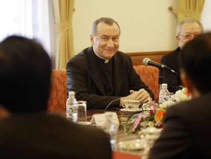 El nuncio Pietro Parolin en una imagen de archivo.