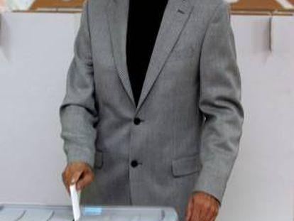El primer ministro conservador, Janez Jansa. EFE/Archivo