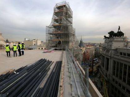 El arquitecto del macroproyecto, Carlos Lamela, estaba acusado de un delito contra el patrimonio. 600 personas trabajan para terminar las obras el próximo verano