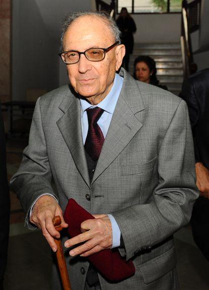 Ahmed Mestiri en una foto datada en noviembre de 2013 en Túnez.