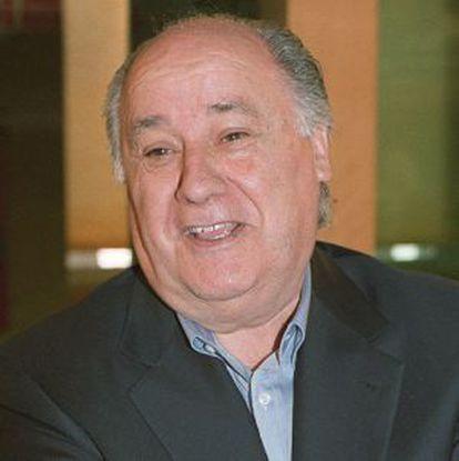 Amancio Ortega, presidente de Inditex, en una imagen de archivo