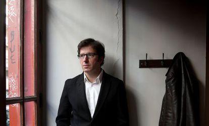 Juan Moscoso, diputado socialista por Navarra.