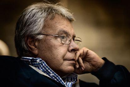 Felipe González, en uno de los encuentros para esta entrevista con EL PAÍS.