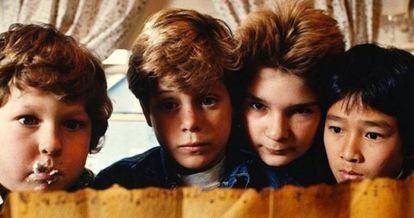 Imagen del filme 'Los Goonies' (1985).