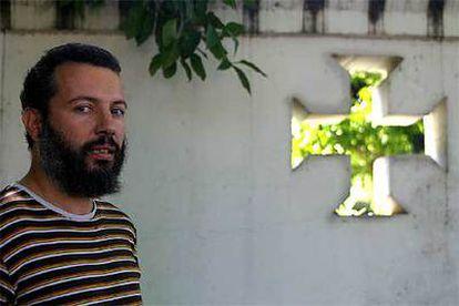 Pablo Gutiérrez Vega, profesor en Sevilla al que confundieron por sus rasgos con un musulmán en un avión.