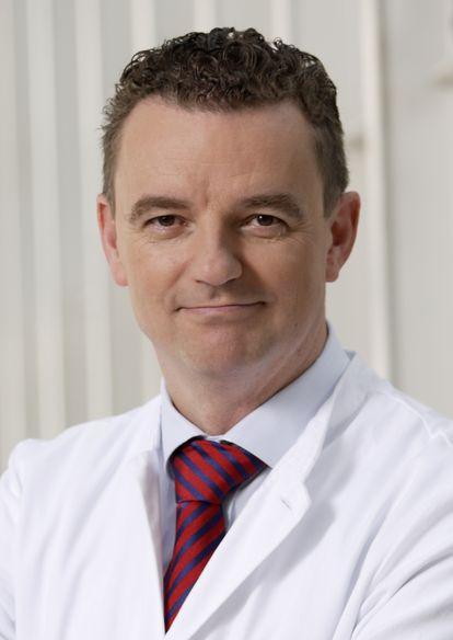 Clemens Wendtner, jefe médico del hospital Schwabing de Múnich.
