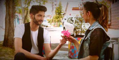 Fotograma del cortometraje 'Cartas de Amor'.