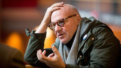 El director italiano Gianfranco Rosi.