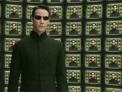 Keanu Reeves, en una escena de 'The Matrix reloaded'.