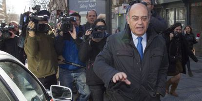 El expresidente de la CEOE Gerardo Díaz Ferrán en una imagen de archivo.