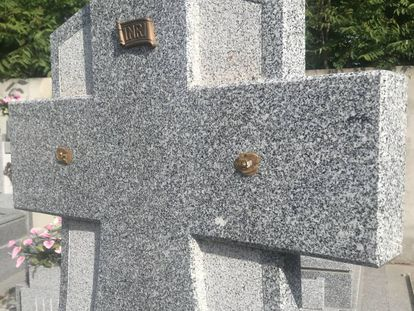 Imagen de un cementerio de Guadalajara.